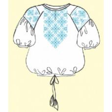 ТПК-162 03-02/09 жіноча Сорочка короткий рукав (розмір 40). Чарівна Мить. Вишиванки