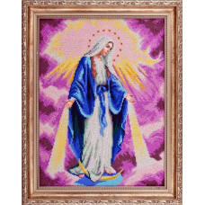 A504 Непорочне зачаття Діви Марії. Ангеліка. Схема на тканині для вишивання бісером