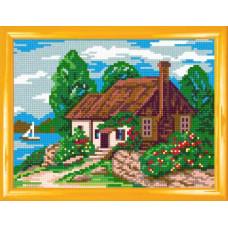H22 Пейзаж пори року: Літо. Чарівниця. Канва з нанесеним малюнком