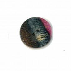 20589 Ґудзик Flat Round 23 mm Symfonie Lilac Range KnitPro