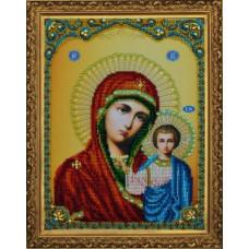 Р-108 Казанська Ікона Божої Матері. Картини бісером. Набір для вишивання бісером