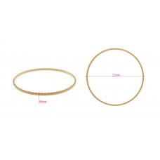 240-9 Ткацький верстат кругового ткацтва, обруч, ловець снів, діаметр 22 см, 69 вирізок. Nurge
