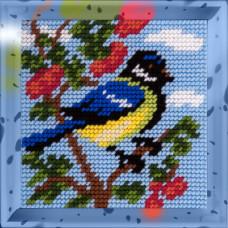 X2006 Синичка. Bambini. Набір для вишивання нитками на канві з нанесеним малюнком