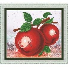 9179 Червоні яблука. Jane. Набір для малювання стразами