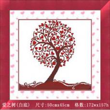 7415 Дерево любові. DIY. Набір для малювання камінням