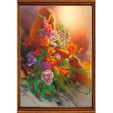 СГ 2509 Квітковий сон. Світ гармонії. Схема для вишивання бісером