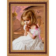 СГ 2515 Дитяча молитва. Світ гармонії. Схема для вишивання бісером