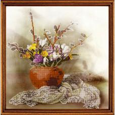 СГ 3102 Весняні квіти. Світ гармонії. Схема для вишивання бісером