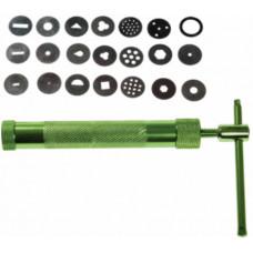 10458 Екструдер для полімерної глини (зелений)