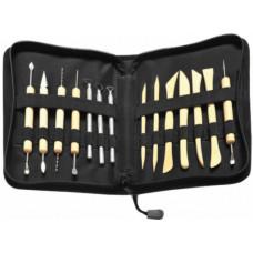 10460 Пенал з інструментами для полімерної глини (голки, леза, палички для ліплення)
