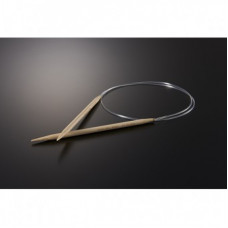 3996/120-8.0 Спиці бамбук. кругові Takumi 120 см х 8,00 мм. Clover. Японія