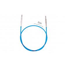 42173 Кабель 35 cm для створення кругових спиць довжиною 60 cm/24 KnitPro