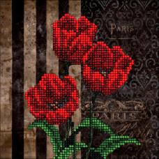 50116 Квіти 5. Краса і творчість. Набір для вишивання бісером ювелірним