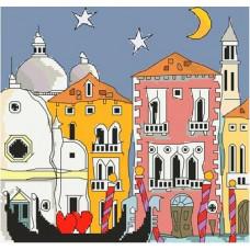 537 Венеція. Світ можливостей. Канва з нанесеним малюнком