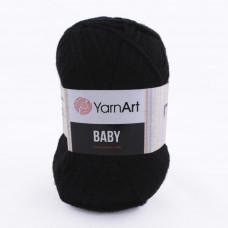 585 Пряжа Baby 50гр - 150м (Чорний) YarnArt