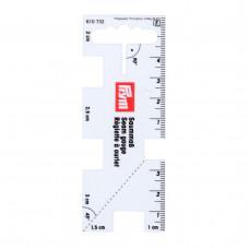 610732 Лінійка для розмітки припусків. Prym