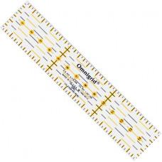 611317 універсальна Лінійка з сантиметровою шкалою 15х3 см. Prym