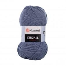 68 Пряжа Jeans Plus 100гр - 160м (Сіро-блакитна, jeans) YarnArt