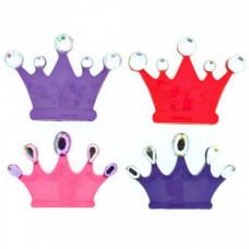7682 Декоративні гудзики. Кольорові корони. Dress it up