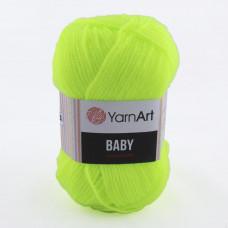 8232 Пряжа Baby 50гр - 150м (Жовтий) YarnArt
