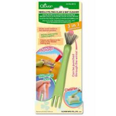 8919 Ручка, тримач для фильцевания з пристроєм для чищення щітки-подушки. Clover, Японія