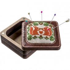 FLTL-035 Набір для створення голківниці з вишивкою хрестиком. Волшебная страна