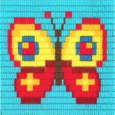 I-008 Метелик. Stitch me. Набір для вишивання вертикальним стібком