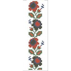 КН-06 Закладка для книжки. Княгиня Ольга. Схема на тканині для вишивання бісером