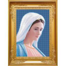 КРМ-009 Богородиця - Цариця миру з Меджугор`є. Княгиня Ольга. Схема на тканині для вишивання бісером