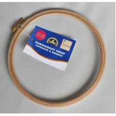 MK0026/10 П`яльці для вишивання дерев`яні 185 мм, товщина 8 мм, бук, DMC