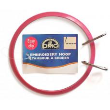 MK0082 П`яльця пружинні, діаметр 17 см., зовнішнє кільце - пластик, внутрішнє -метал, DMC