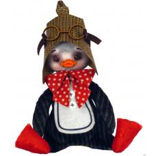 ММ3022 Пінгвін. ZooSapiens. Набір для шиття іграшки