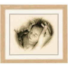 PN-0012175 Мама і дитина. Vervaco. Набір для вишивки хрестом