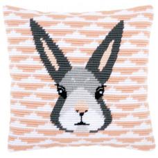 PN-0158278 Кролик. Подушка. Vervaco. Набір для вишивки хрестом