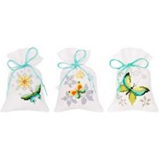 PN-0165143 Мішечки метелики. Vervaco. Набір для вишивки хрестом