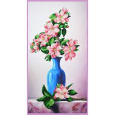 Р-359 Яблуневий цвіт. Картини бісером. Набір для вишивки бісером