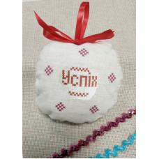 ШНЛ-039 Пошита новорічна іграшка. Княгиня Ольга. Схема на тканині для вишивання бісером