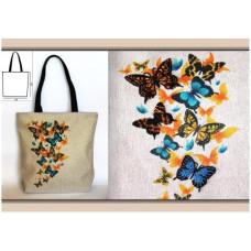 СК 3501 Сумка Метелики. Повна скриня. Набір для вишивки бісером
