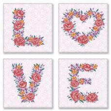 СН125 Love flowers. Ідейка. Набір для малювання картини за номерами
