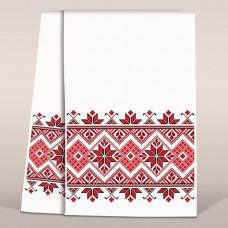 СР 1711 Рушник з українським орнаментом. Повна скриня. Схема для вишивання бісером