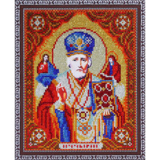 TC6012 Святий Миколай Чудотворець. DA. Набір алмазної мозаїки (стрази, повна зашивка)
