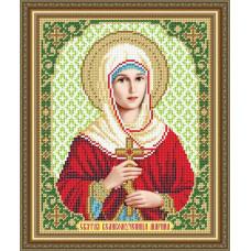 VIA4179 Свята Великомучениця Марина. ArtSolo. Схема на тканині для вишивання бісером