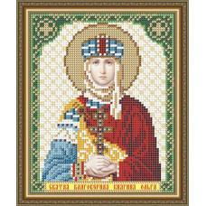 VIA5160 Свята Благовірна Княгиня Ольга. ArtSolo. Схема на тканині для вишивання бісером